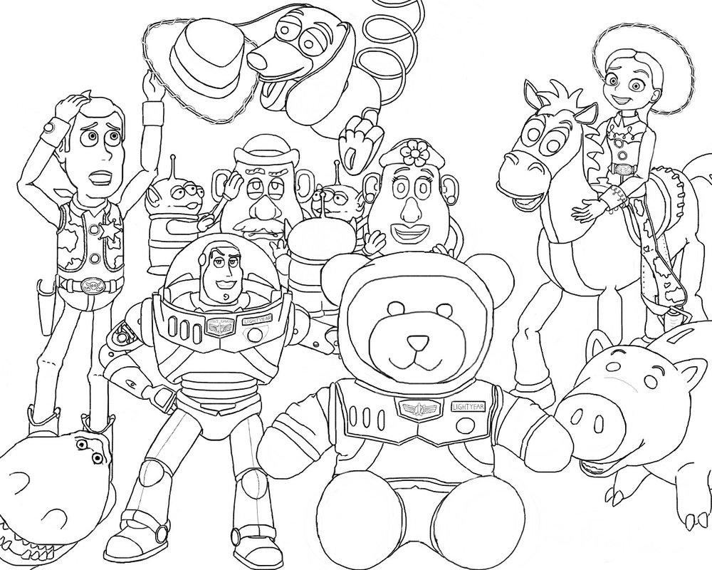 Imagens Do Toy Story Para Pintar