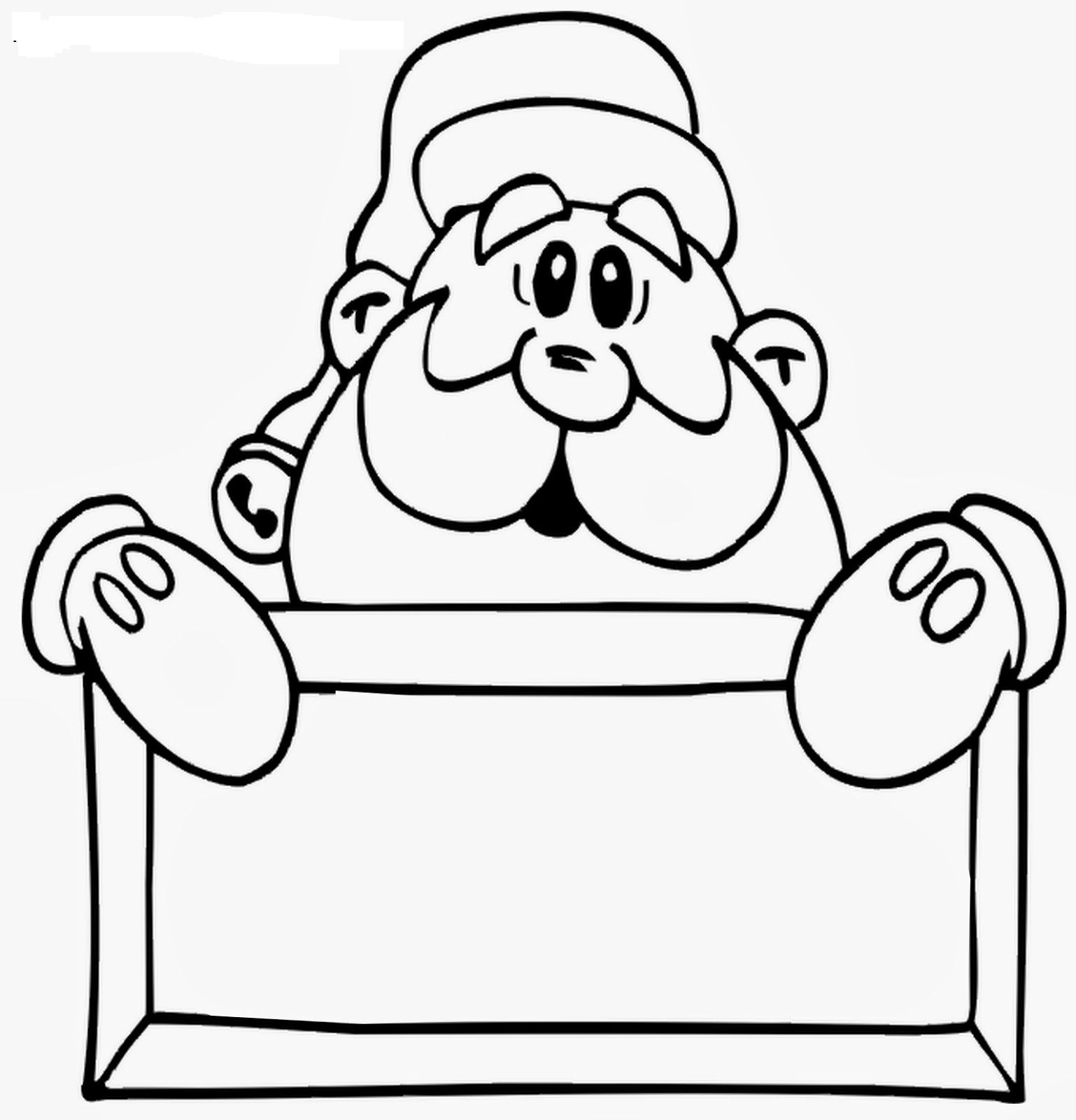 Imagens Para Colorir Do Papai Noel