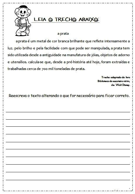 Plano de aula portugues ensino fundamental 1