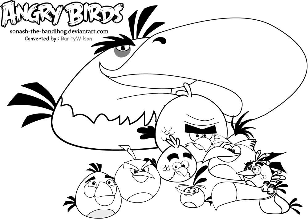 Jogo Desenhos Para Colorir Angry Birds Star Wars No Jogos: Desenhos Para Pintar Angry Birds