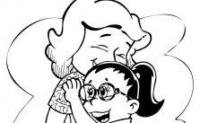 Imagens do Dia das Mães para colorir