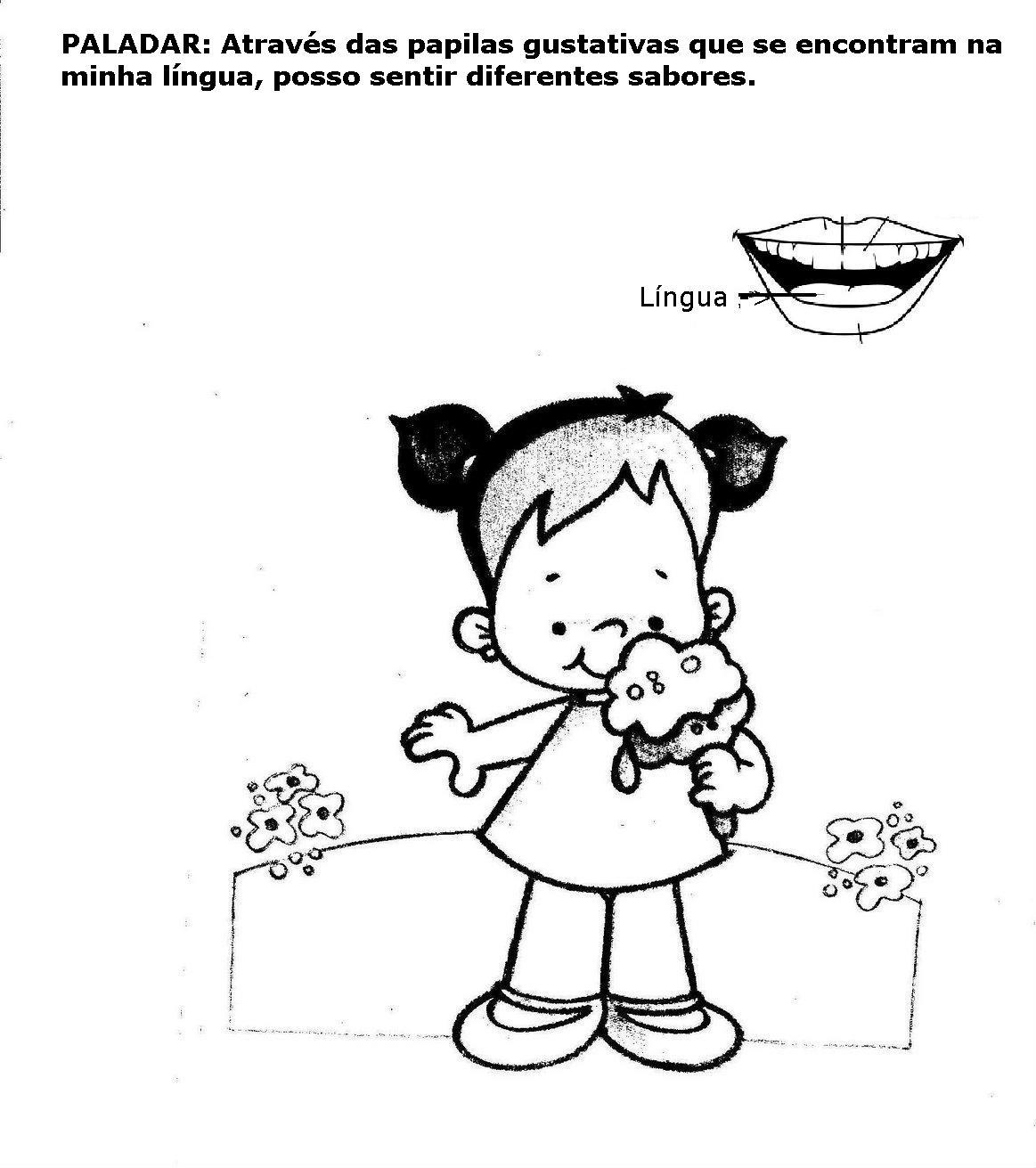 Well-known Atividades para educação infantil Os 5 sentidos - 2 - Fichas e  SH67