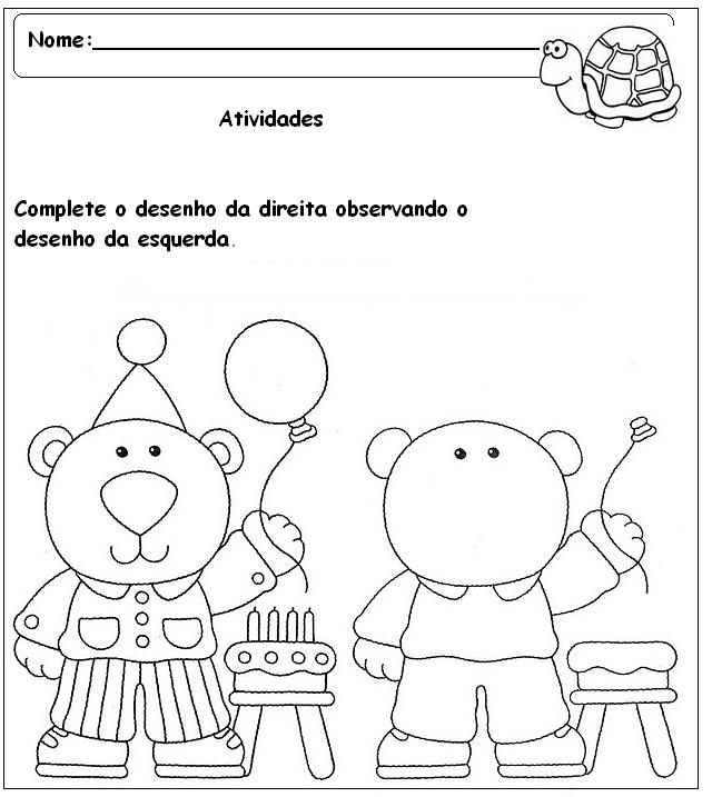 Preferência Atividades para pré-escolar diversas - Parte 2 - Fichas e Atividades LS73