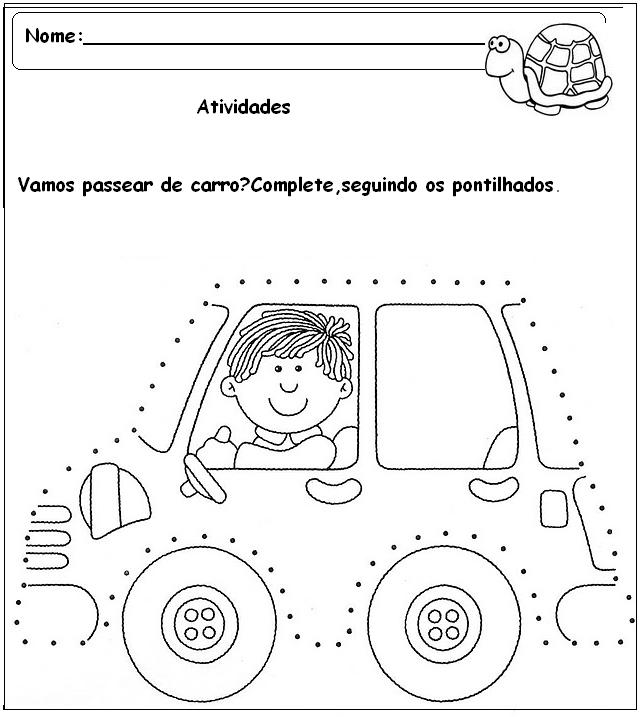 Top Atividades para pré-escolar - 17 - Fichas e Atividades TQ99