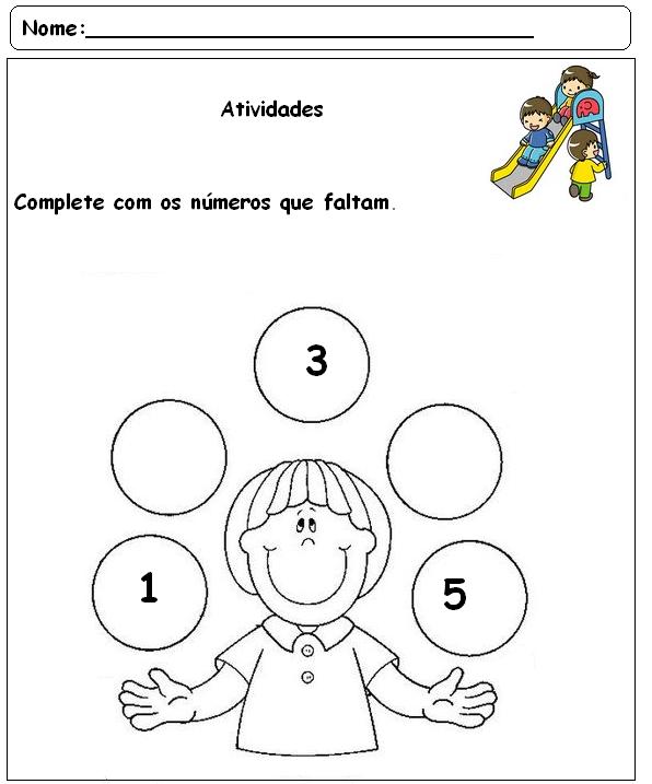 Suficiente Atividades para pré-escolar - 19 - Fichas e Atividades EA26