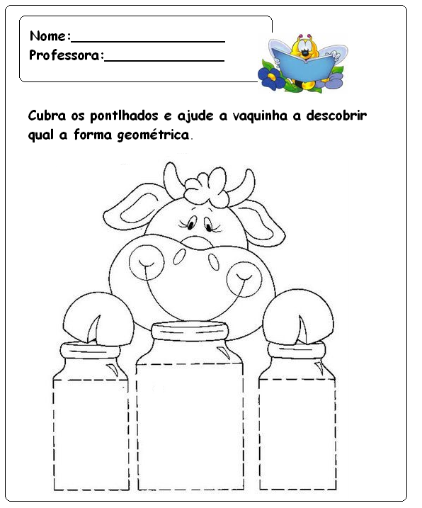 Suficiente Atividades para pré-escolar - 20 - Fichas e Atividades QK73