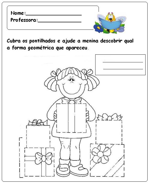 Populares Atividades para pré-escolar diversas - Parte 2 - Fichas e Atividades PP63