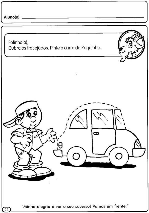 Atividades Pre Escolar Meios De Transporte Educacao Online