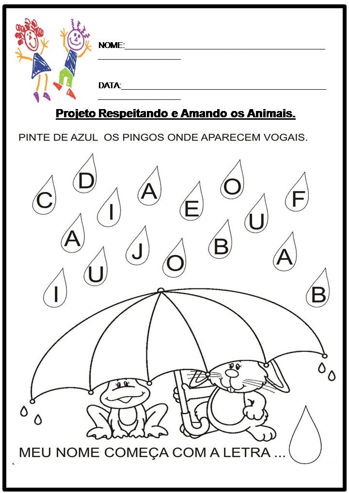 Fabuloso Atividades pré-escolar Primavera - 9 - Fichas e Atividades VJ65