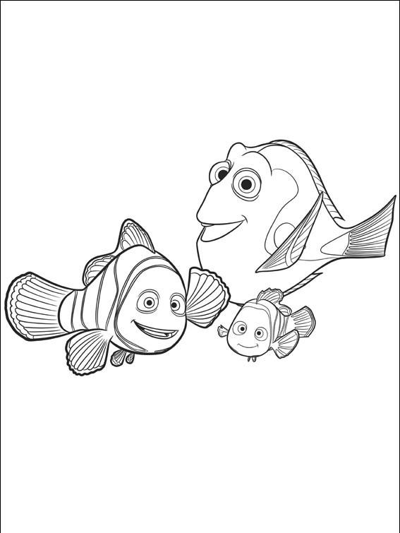Desenhos Para Pintar Procurando Dory Educacao Online