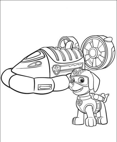 Desenhos Para Pintar Patrulha Canina Educa 231 227 O Online