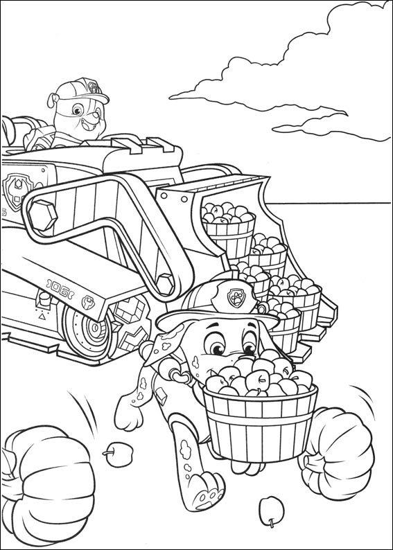 Desenhos para pintar patrulha canina 33 fichas e - Dessin de psy ...