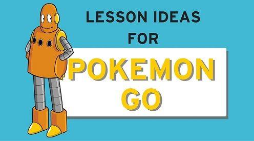Atividades de Inglês com Pokemon Go