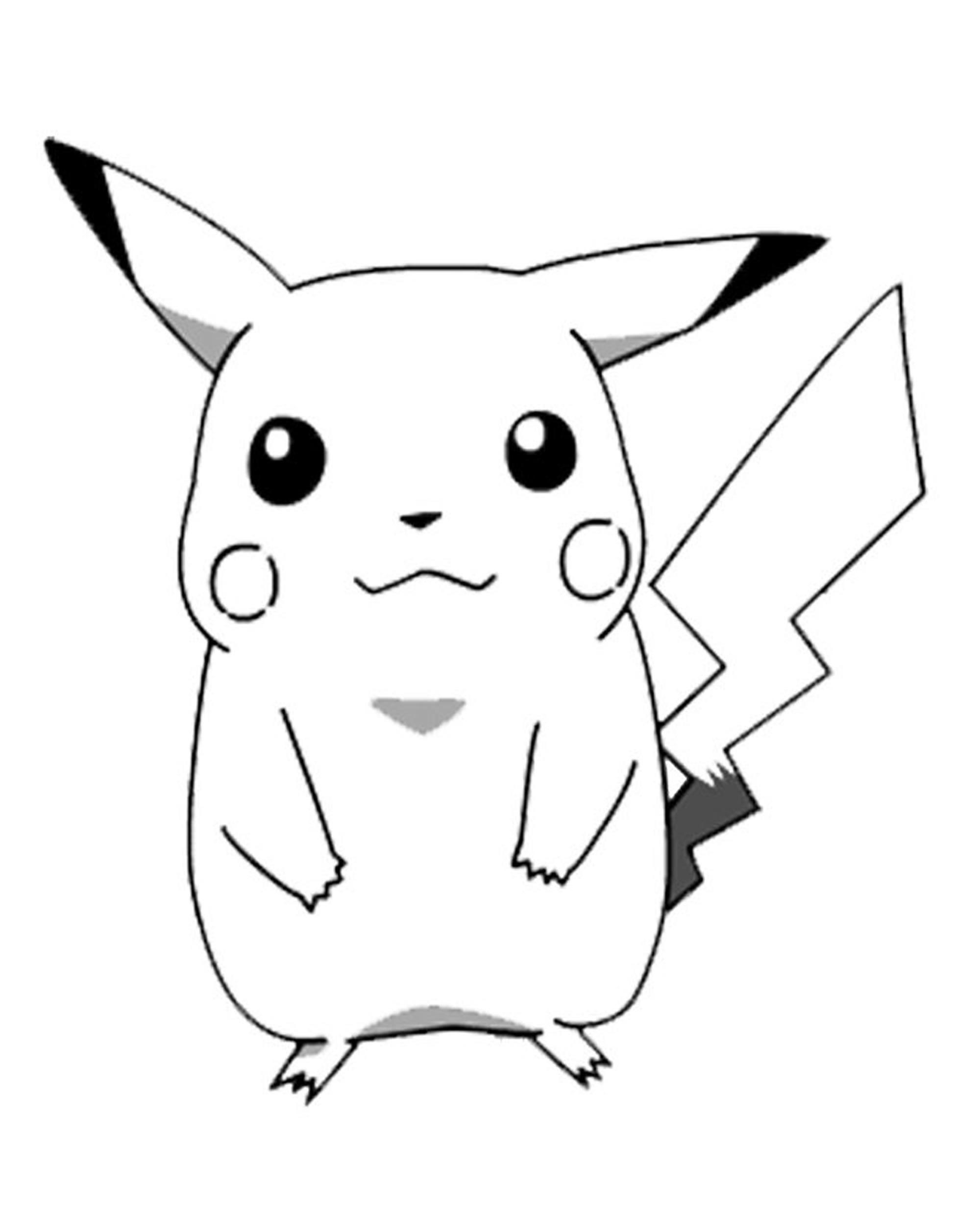 Desenhos Do Pokemon Para Imprimir E Colorir