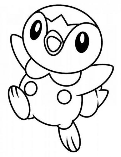 dibujos de pikachu para pintar colorear e imprimir