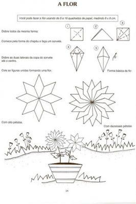 O Jardim - Brincando com dobradura