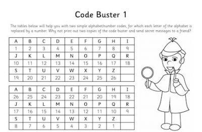 Desafios puzzle em Inglês para crianças - codigo secreto