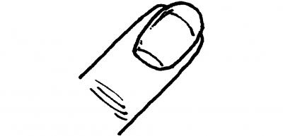 Desenhos de unhas para imprimir e colorir