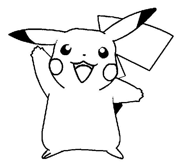 Desenhos Do Pikachu Para Imprimir E Colorir Fichas E