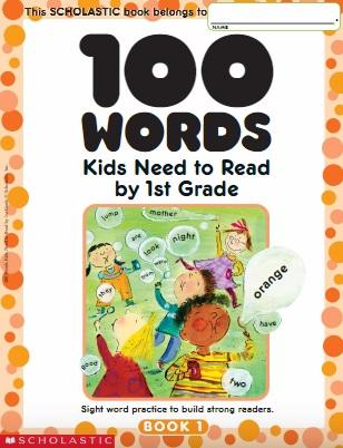 100 palavras que as crianças devem aprender em Inglês