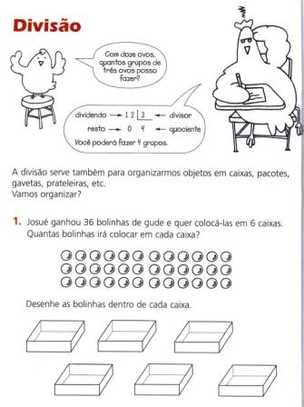 Matemática - Atividades de Divisão para 3º ano