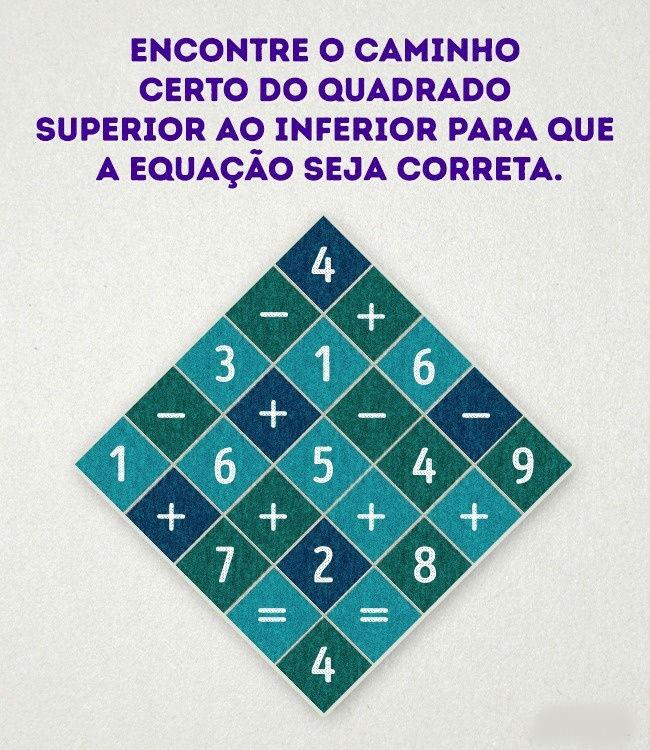 Teste a sua inteligência com 7 enigmas