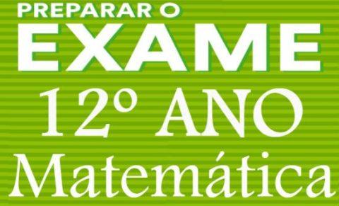 Matemtica - Teste final para o 12 ano
