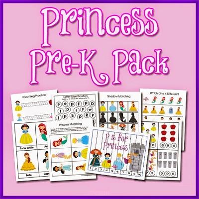 Atividades criativas para idade Pré-Escolar - Princesas