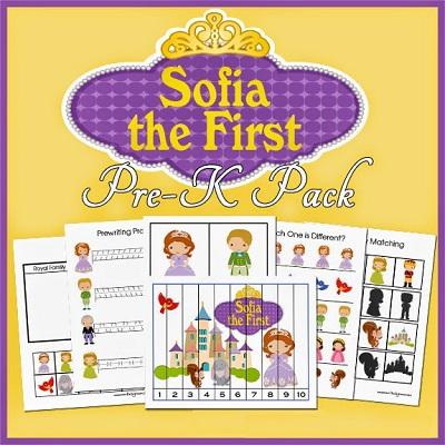 Atividades criativas para idade Pré-Escolar - Sofia