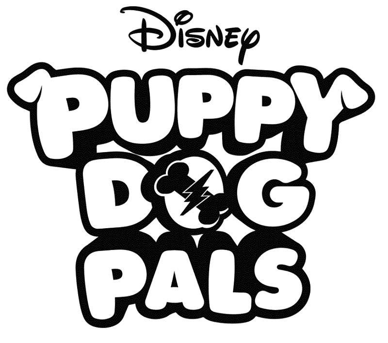Imagens do The Puppy Dog Pals para colorir