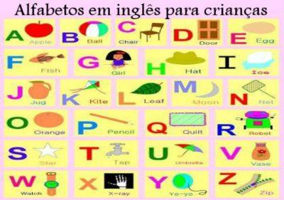 Alfabetos em Inglês para crianças
