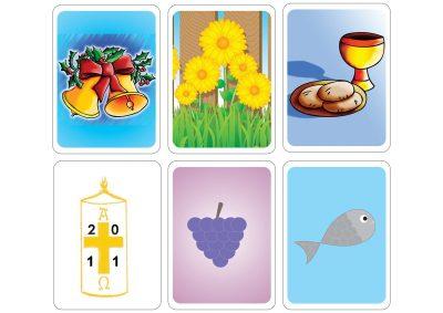 Atividades para o 1º ciclo e pré-escolar com os símbolos da Páscoa