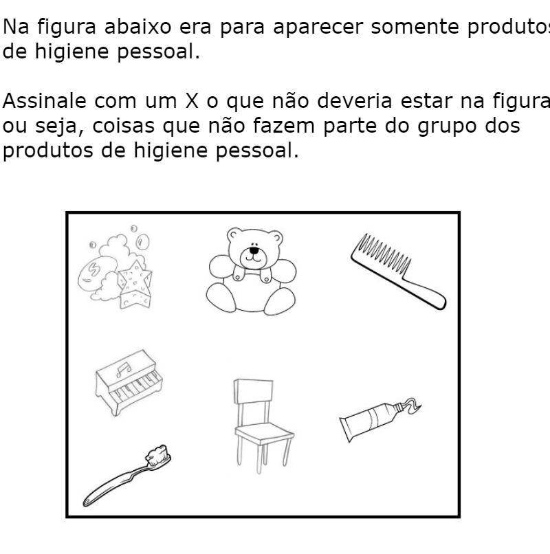 Top Higiene Pessoal - Fichas e Atividades BC47