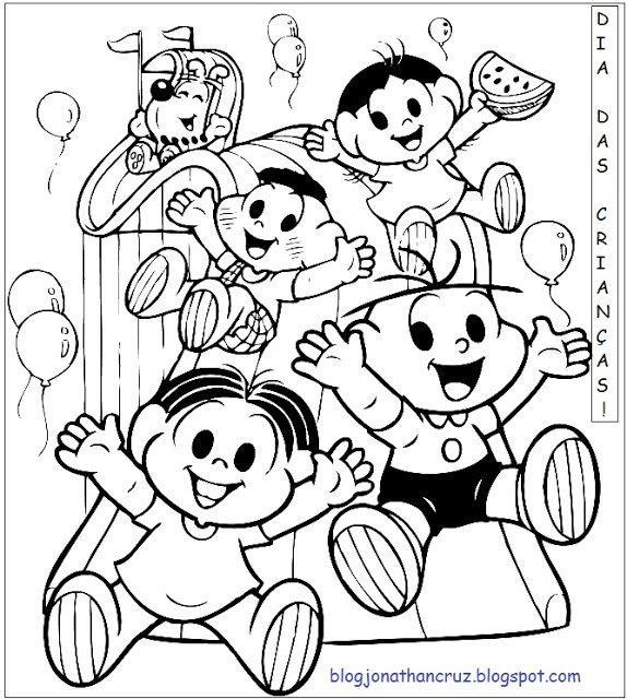 Atividades De Colorir Para O Dia Das Criancas Educacao Online