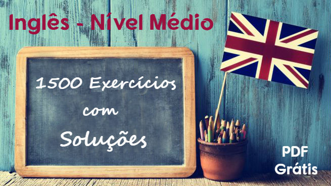 New Social - 1500 Exercícios resolvidos de Inglês nível médio