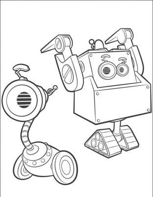 Desenhos de Rusty Rivets para imprimir e colorir