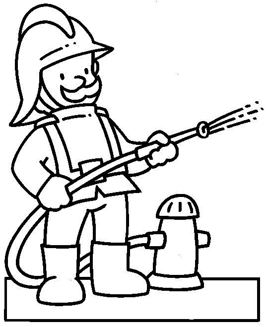 Desenhos De Bombeiros Para Imprimir E Colorir Educacao Online