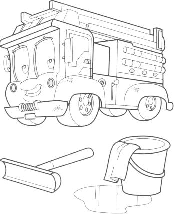 Desenhos De Bombeiros Para Imprimir E Colorir 20 Fichas E