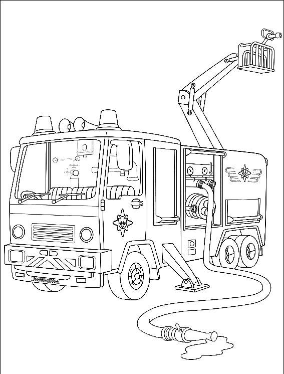 Desenhos De Bombeiros Para Imprimir E Colorir 21 Fichas E
