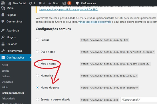 Modificar estrutura de URL no WordPress sem Erro 404 - 1