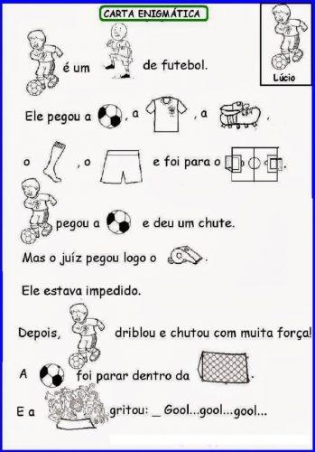 Atividades de Futebol para Educação Infantil