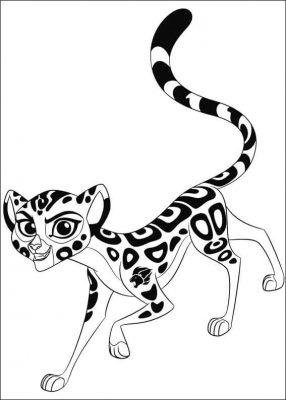 Imagens de desenhos para colorir a guarda do leao