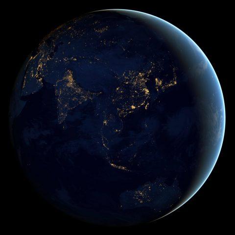 Imagens do planeta Terra em alta resolucao