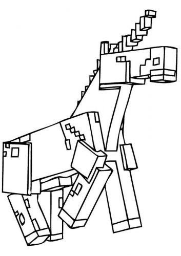Desenhos Do Minecraft Para Colorir Educa 231 227 O Online