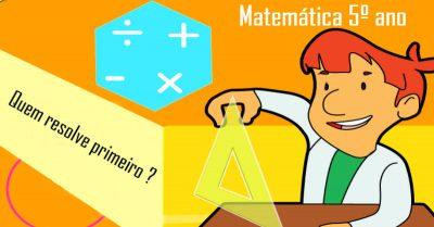 Labirintos de Matemática para o 5º ano - 2º ciclo