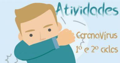 Atividades sobre o Coronavírus - 1º e 2º ciclos